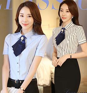 女短袖衬衫4
