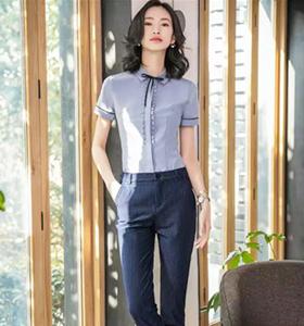女短袖衬衫5